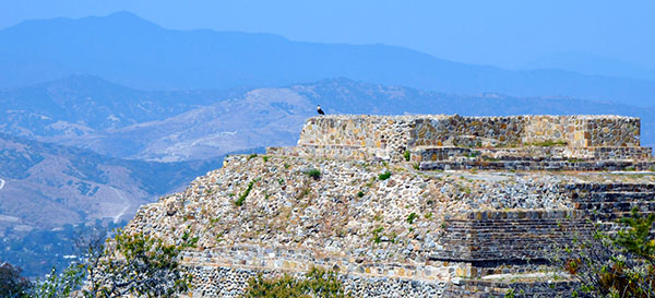 Visible from anywhere in the central part of the Valley of Oaxaca, these impressive ruins of Monte Albán attracted visitors and explorers throughout the colonial and modern eras.