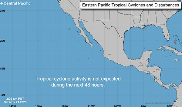 Eastern North Pacific - Hurricane Free