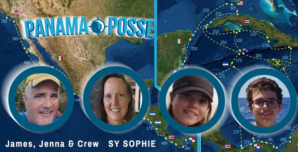 SY SOPHIE IS BACK IN THE PACIFIC