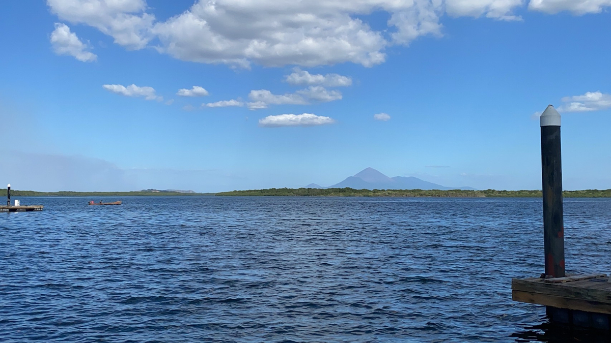 picture of a volcano nicaragua
