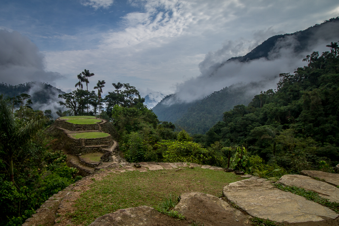 Start to climb to the Lost City in Colombia LOST CITY