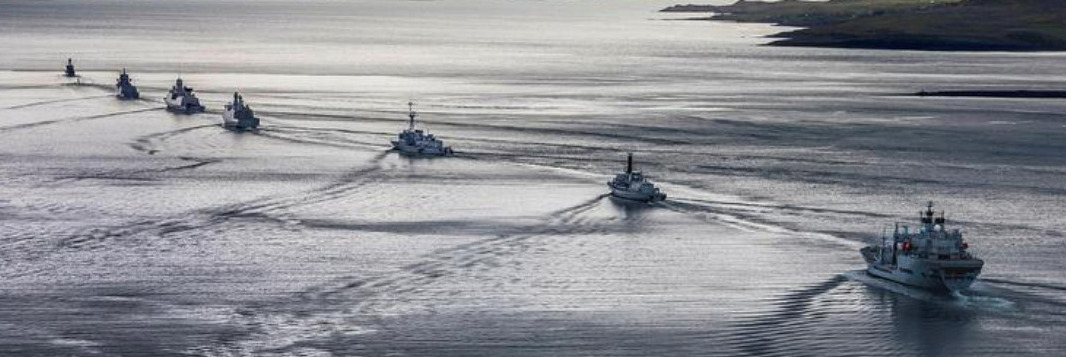 PANAMA POSSE CONVOYS through pirate prone waters