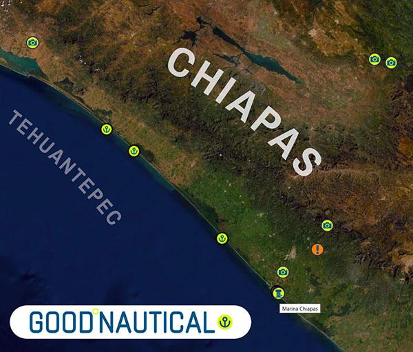 the chiapas region in good nautical
