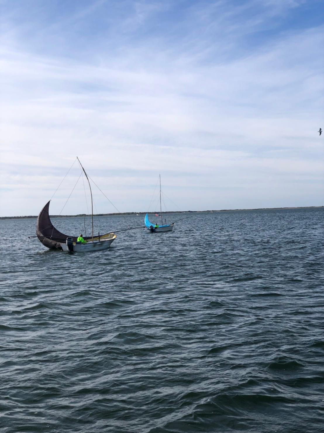 ACRUX sailing pangas and fishermen of Altata, MX
