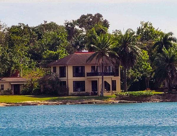 BLUEFIELDS ANCHORAGE IN SW JAMAICA
