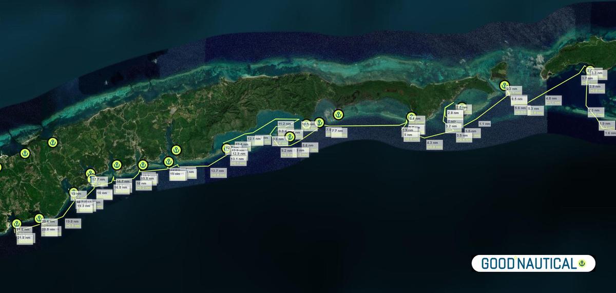 ROATAN BAY OF ISLAND HONDURAS