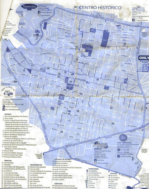 OAXACA City Map