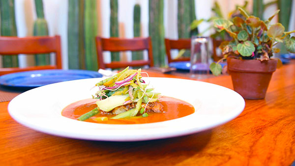 amazing dishes at las quince letras