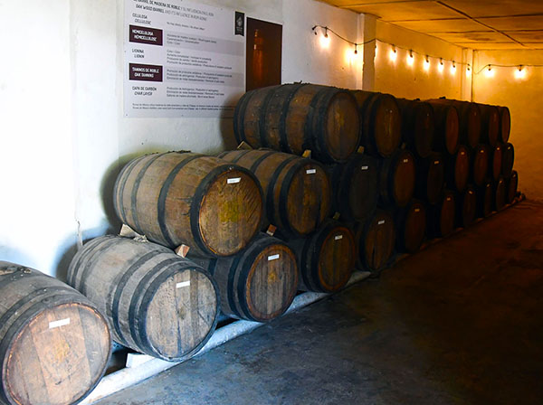 The 8 year aged rum waiting for it's final destination ...