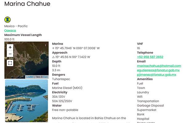 marina chahue huatulco