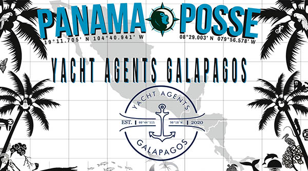 PANAMA POSSE - YACHT AGENTS GALAPAGOS SPONSORS THE PANAMA POSSE