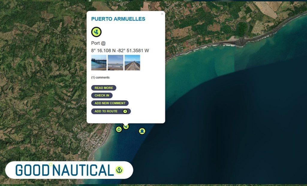 PUERTO ARMUELLES, PANAMA in GOOD NAUTICAL