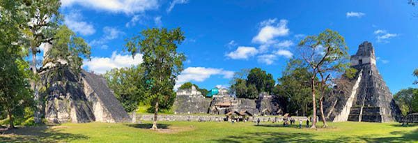 Tikal has been completely mapped and covered an area greater than 16 square kilometres which included about 3,000 structures.