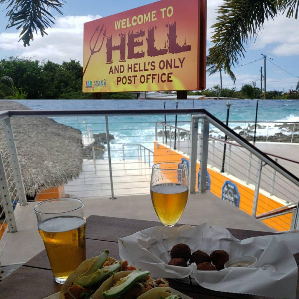 GARGOLY IS SENDING Postcards from HELL Cayman Islands