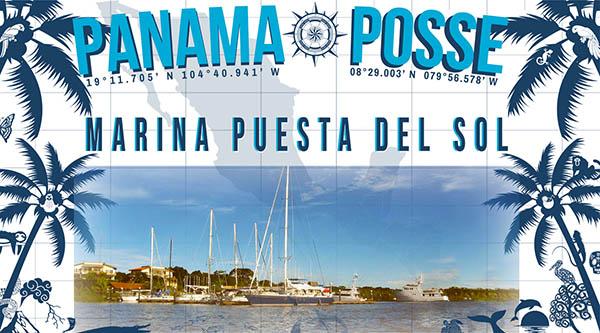 Marina Puesta del Sol, Nicaragua sponsors the Panama Posse