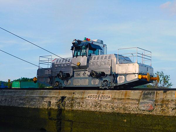 SY Emmy Kate Panama Canal