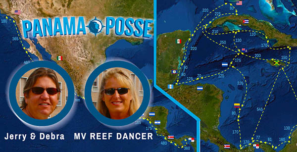 REEF DANCER is part of the PANAMA POSSE