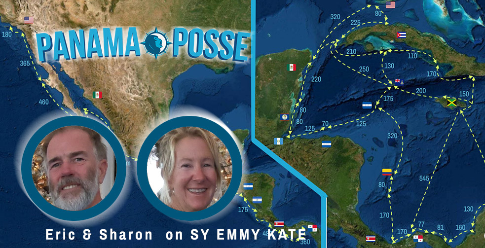 SY Emmy Kate is part of the Panama Posse