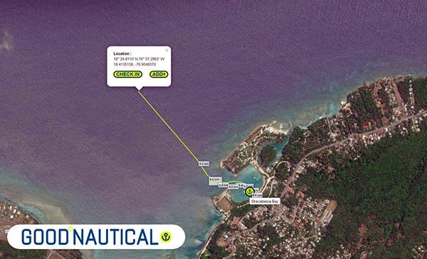 Oracabessa Bay is in Good Nautical