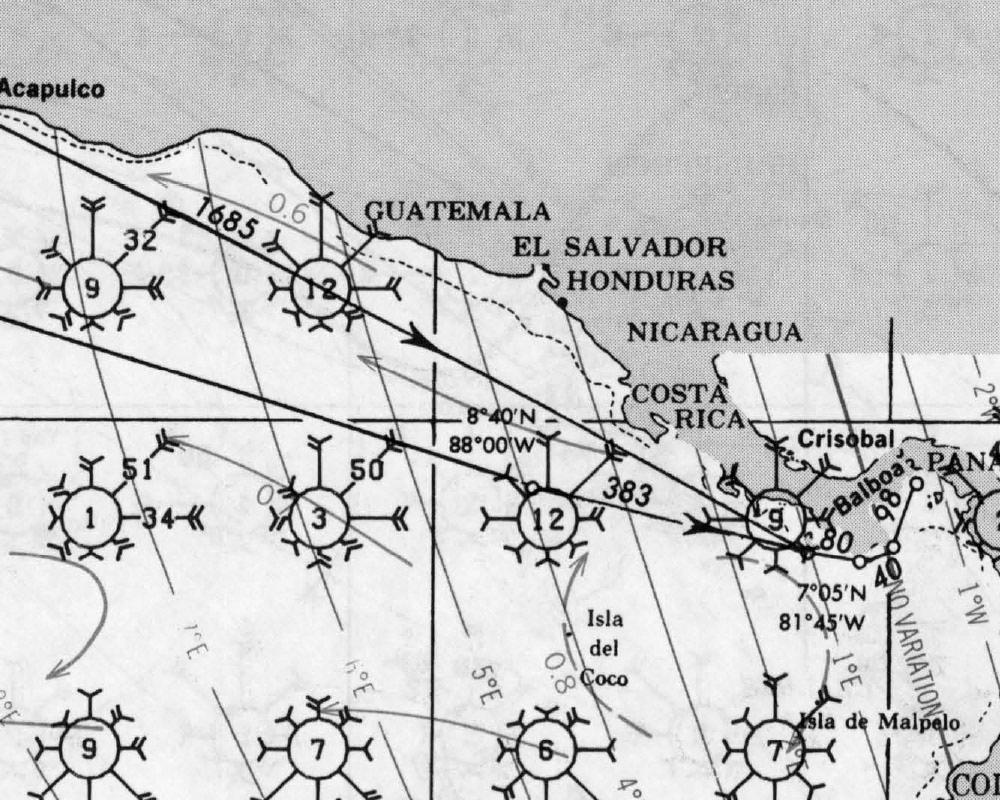 Pilot Charts of Nicaragua