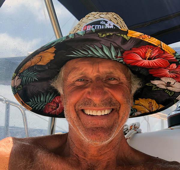 KANIWI Chris Panama Posse participant with a happy face