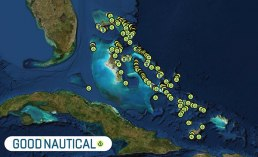 Over 220 anchorages and 120+ marinas in the Bahamas are all in Good Nautical