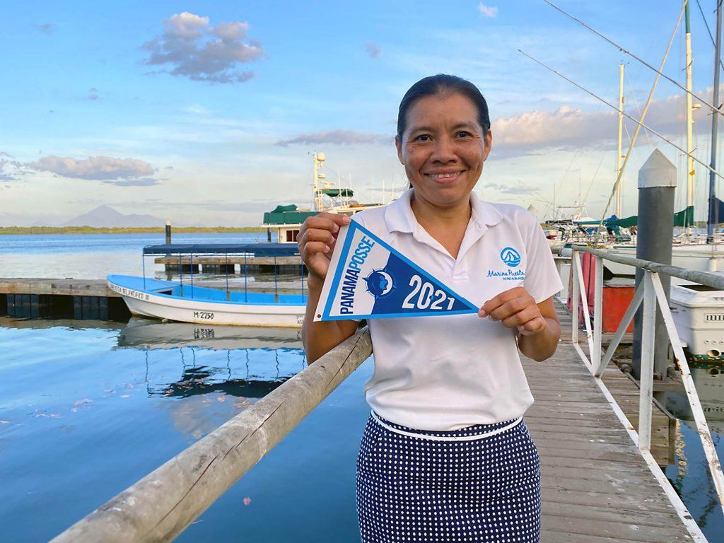 Juanita Manager @ Marina Puesta del Sol Nicaragua