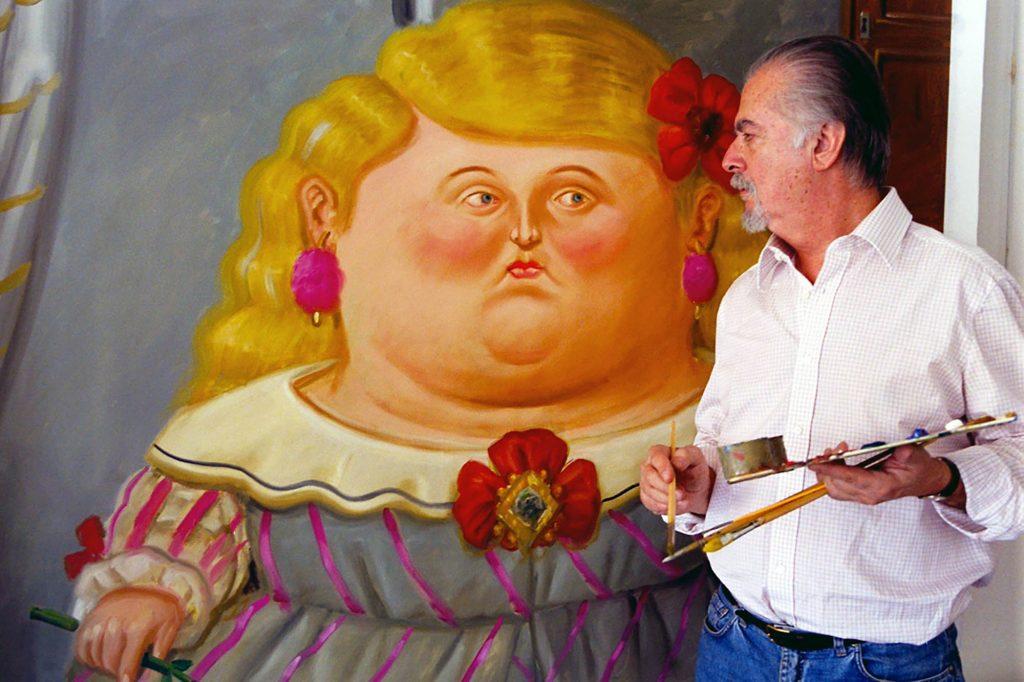 Fernando Botero Angulo (born 19 April 1932) is a Colombian figurative artist and sculptor