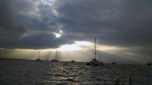 MONSOON ANCHORAGE AND CLOUDS