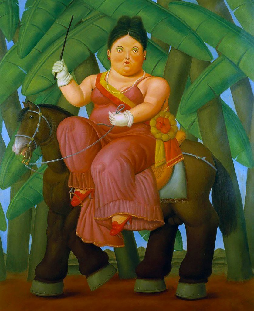 """""""The First Lady' by Fernando Botero"""