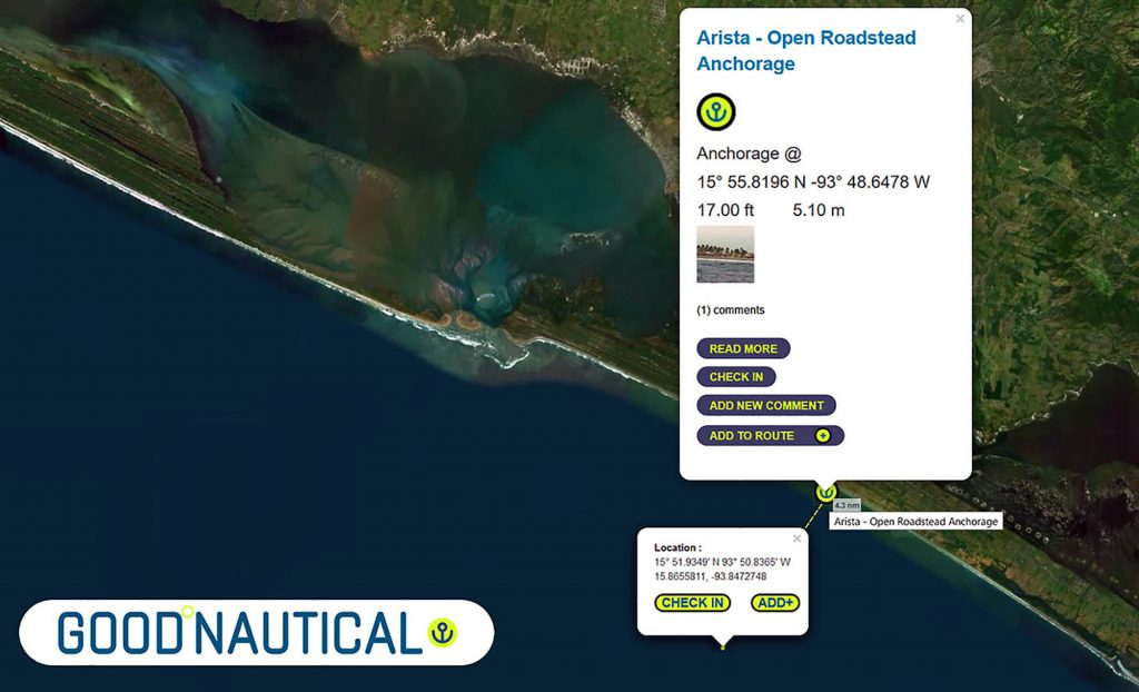 pecial they scouted a new Tehuantepec anchorage ASTRIA IS IN GOOD NAUTICAL
