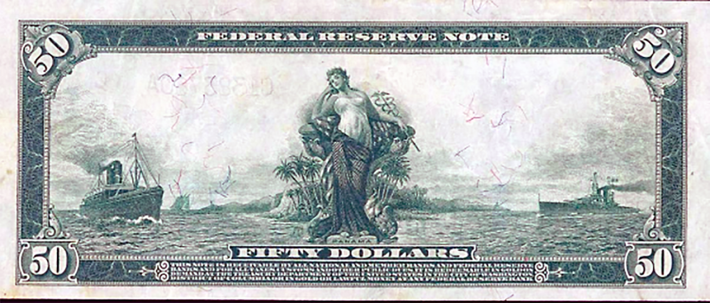 Federal Reserve Note 50 notes