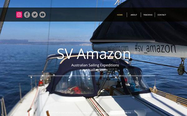 SY AMAZON Website