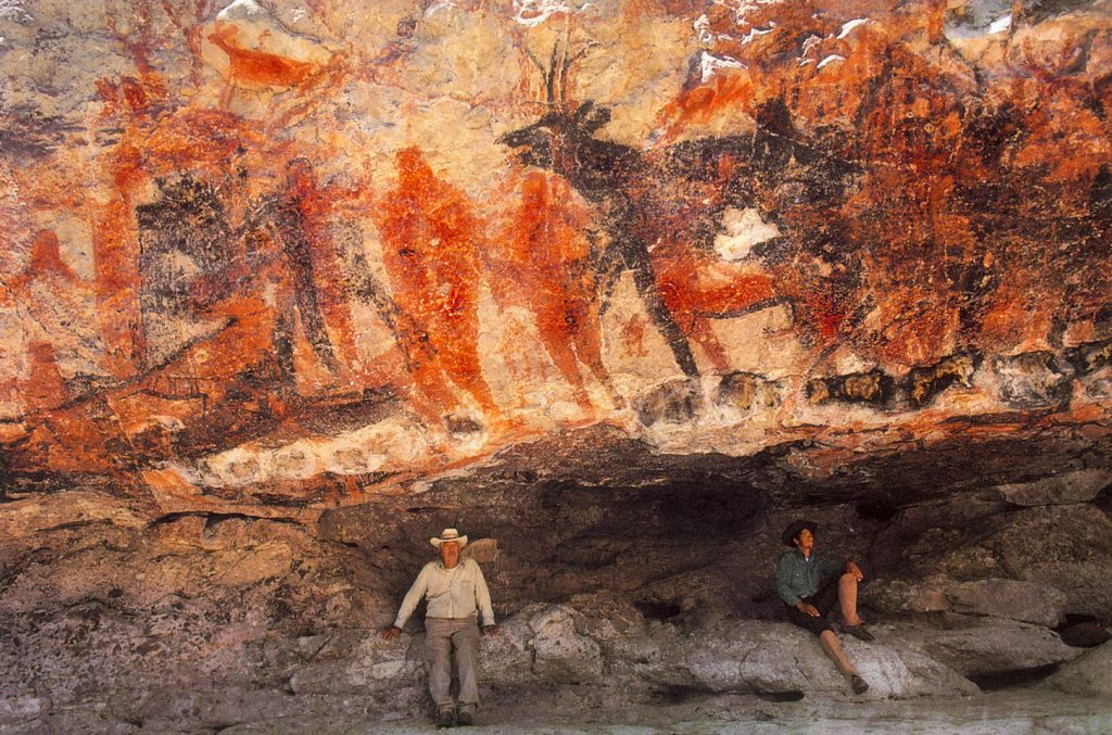 Rock Paintings of the Sierra de San Francisco baja