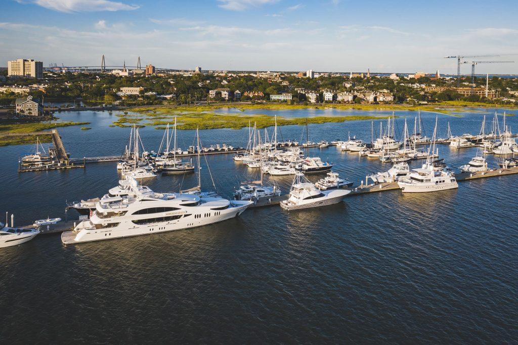 Safe Harbor Charleston City Marina Sponsors the Panama Posse 32° 46.5983'N 079° 57.0766'W width=