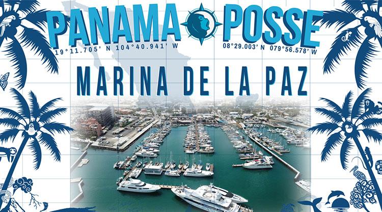 Marina de la Paz in the sea of Cortez sponsors the Panama Posse