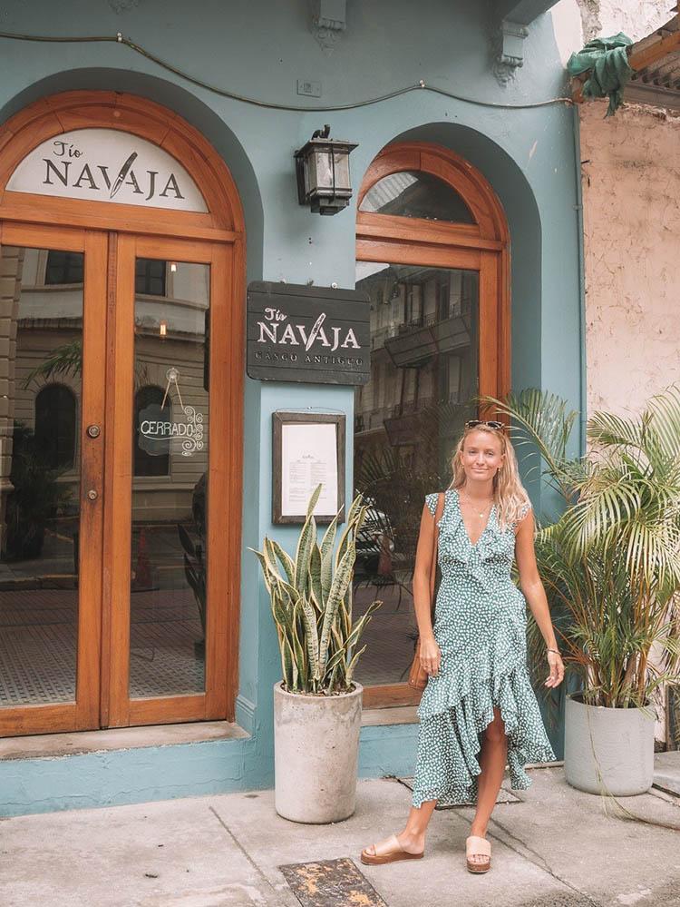 Another happy customer at Tio Navaja Restaurant