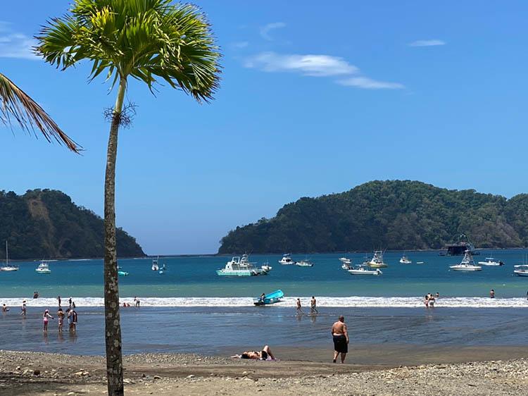 Busy Herradura Bay