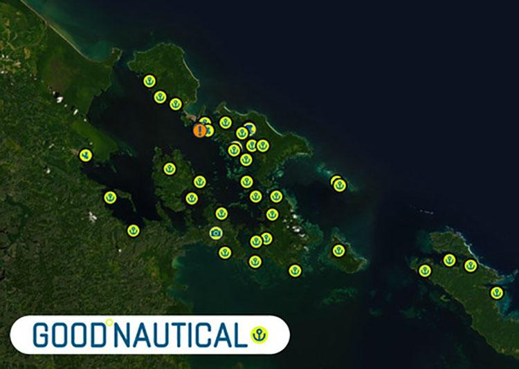 BOCAS DEL TORO ANCHORAGES ARE IN GOODNAUTICAL