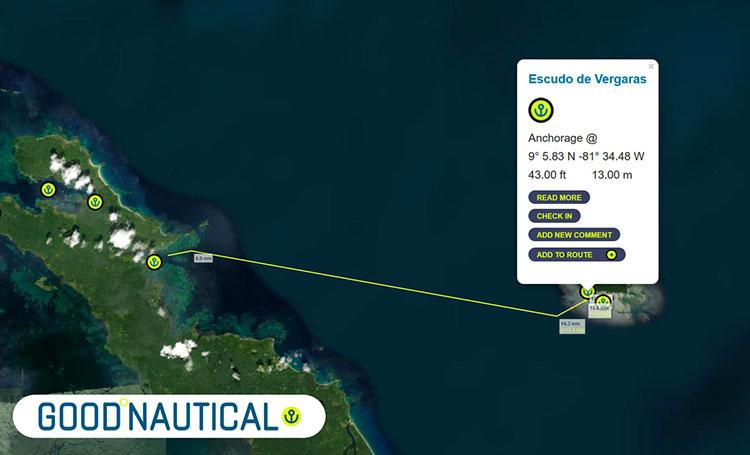 Only 20 nm from Bocas del Toro Isla Escudo de Vergaras