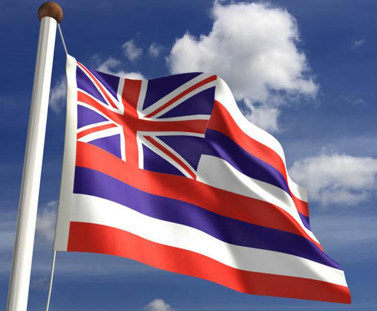 60 Hawaii FLag.