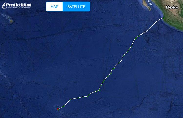 eaglub's 3,000 nm, 20 day track a