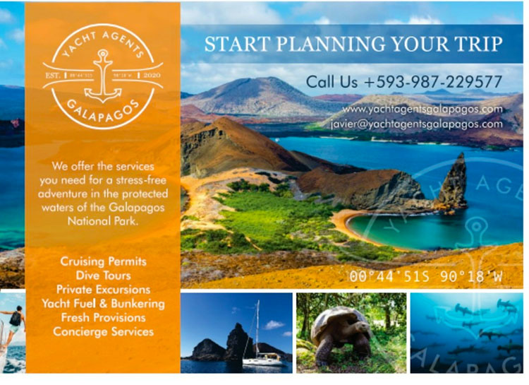 PLAN YOUR TRIP YACHT AGENTS GALAPAGOS SPONSORS