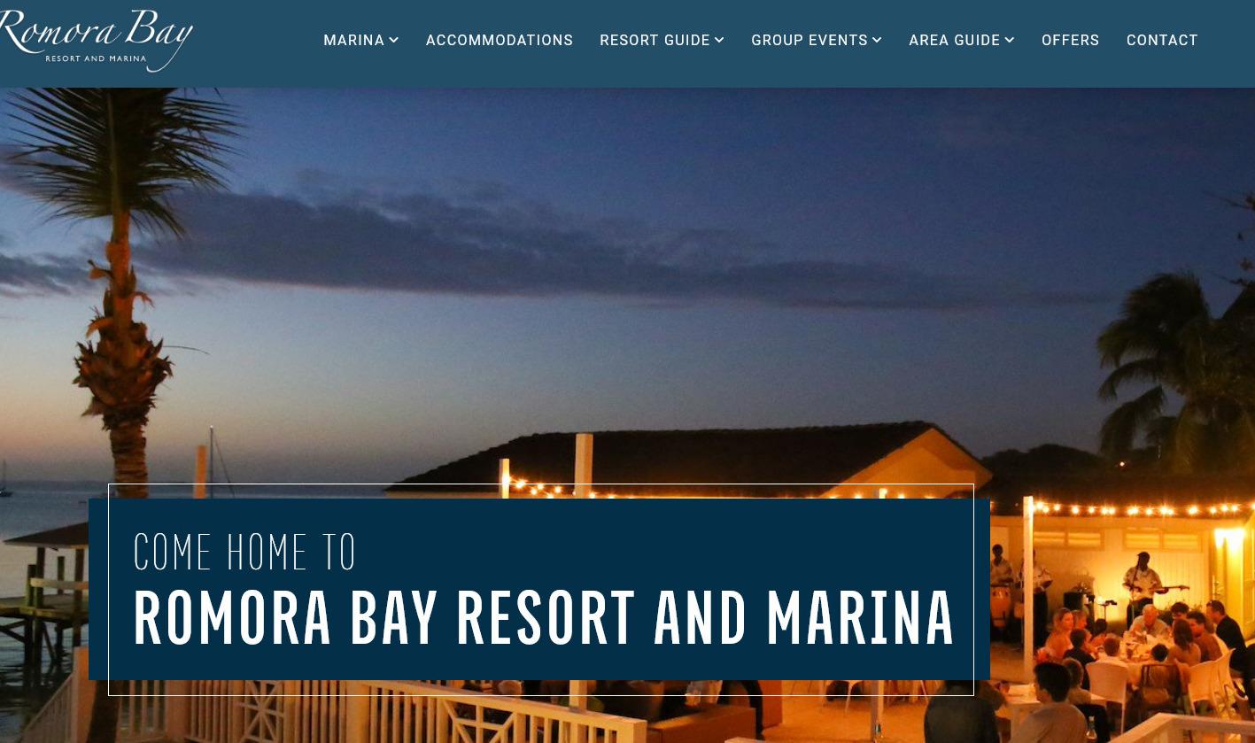Romora Bay official website