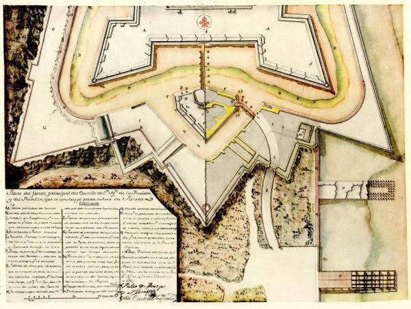 PLANS OF Castillo de San Marcos Plans