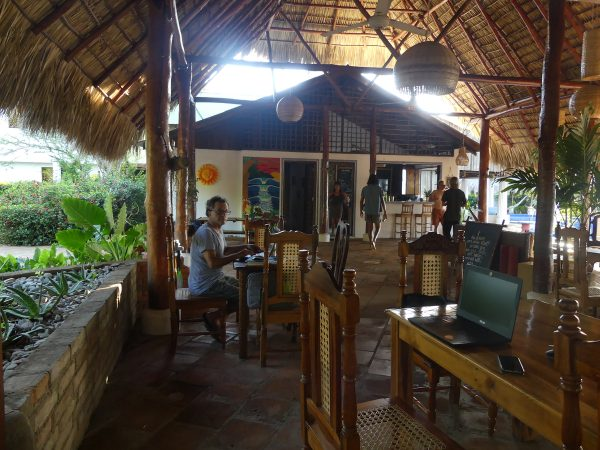 The food was delicious -- best we had in Nicaragua