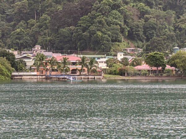 SY TOKETEE at anchor in Golfito, Costa Rica
