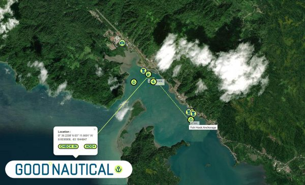 golfito anchorage sand marinas are in good nautical