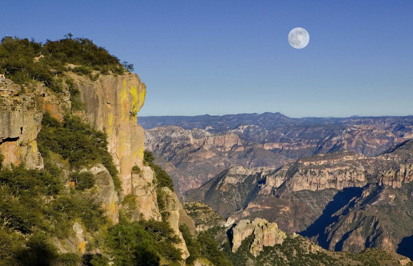 Copper Canyon, called the Barranca del Cobre