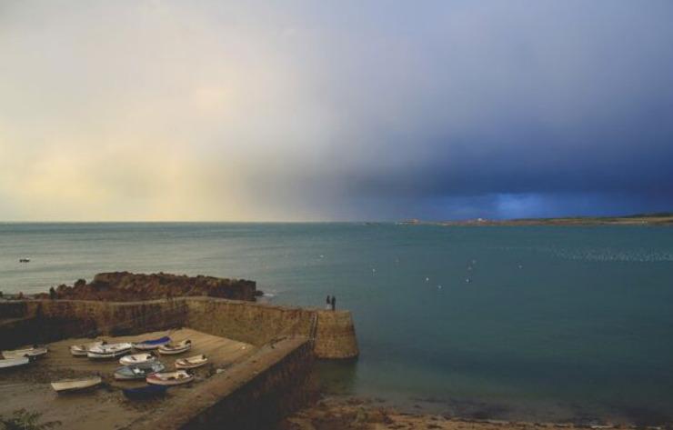 sunken pirate stronghold at Port Royal